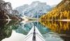 Lago di Braies: fino a 7 notti con mezza pensione e Spa illimitata