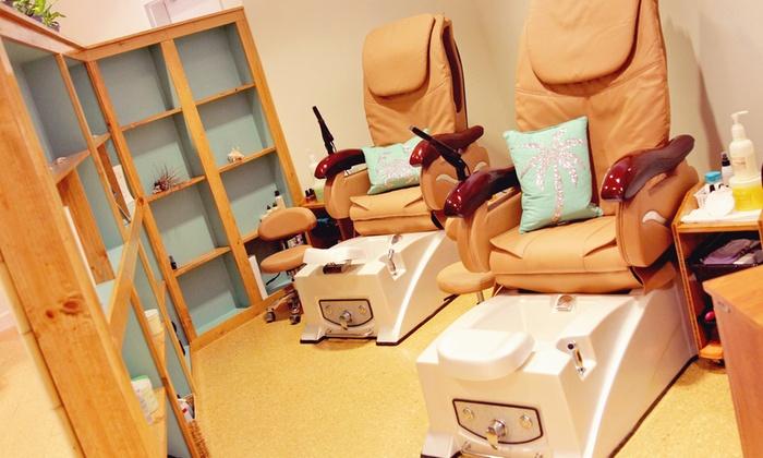 Utopia Salon And Day Spa - Port Salerno-Hobe Sound: A Spa Manicure and Pedicure from Utopia Salon and Day Spa (49% Off)