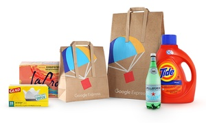 $15 for $40 to Spend on Order from Google Express at Google Express, plus 6.0% Cash Back from Ebates.