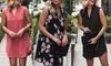 Women's Sleeveless V-Neck Shift Dress. Plus Sizes Available.
