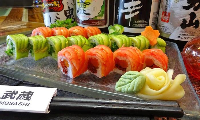 Musashi Japanese Vegan & Sake Bar - Lower Southampton:  $12 for $20 Worth of Japanese Food — Musashi Exotic Japanese, Vegan & Sake  Bar