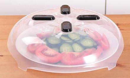 1 o 2 tapas de platos magnética para microondas