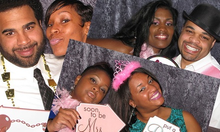 Two- or Three-Hour Photo-Booth Rental Packages from Marvelous Image Booth (Up to 56% Off)