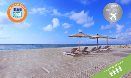 Bali: Per Person Adults & 2 Kids for a 7Night Getaway with Flights at the 5* Novotel Bali Nusa Dua