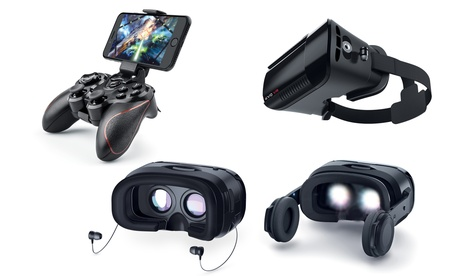 Merkury Innovations EVO Mega Pro, Ultra Pro, or Next Pro VR Headset or EVO VR Wireless Bluetooth Gamepad c79a84a9-d82b-47c8-825e-d621ffc08610