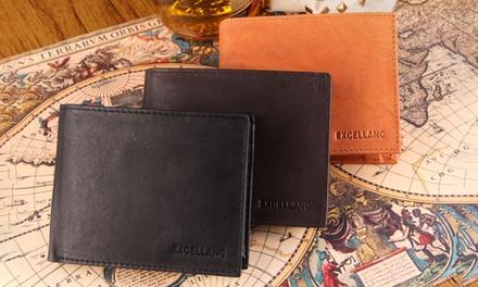 1, 2 ou 3 Portefeuilles cuir Excellanc format horizontal, 3 coloris au choix, dès 12,90€ (jusqu'à -83%)