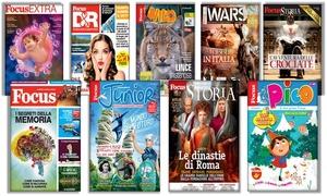 Riviste Focus: Abbonamenti alle riviste del mondo Focus con spedizione gratuita (sconto fino a 50%)