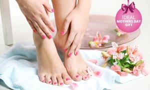 Posh Studio: 90-Minute Thai Herbal Ball Manicure from R99 for One with Optional Pedicure at Posh Studio (Up to 72% Off)