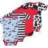 Infant Cotton Bodysuits (4-Pack)