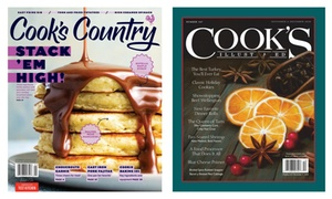 Subscription to Cook's Magazines
