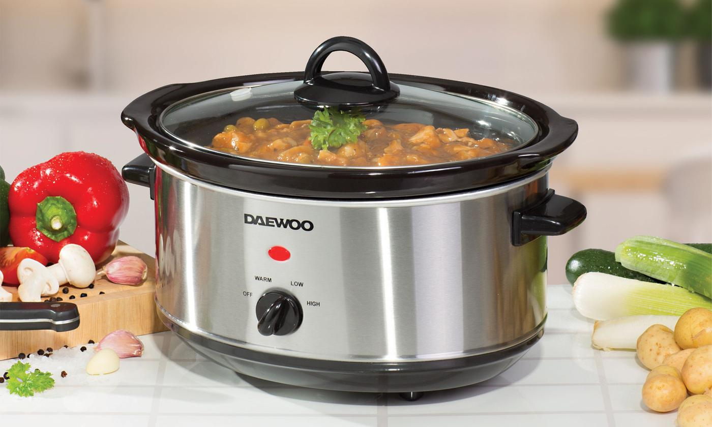 Daewoo 3.5L or 6.5L Slow Cooker