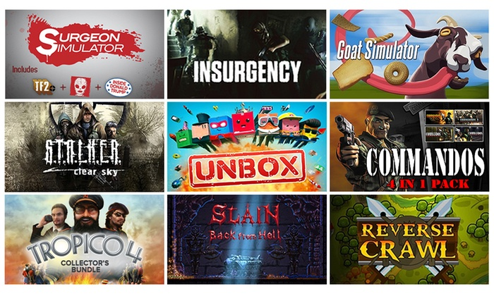 Fanatical: Fanatical PC Games Bundle - Steam Key Gift Pack