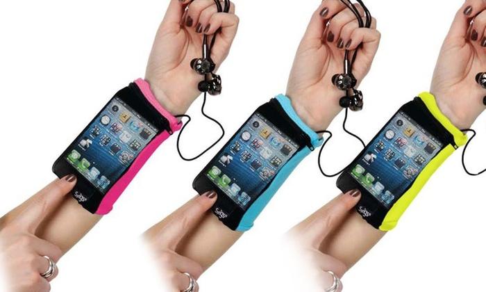 Sprigs Touch Mesh Wrist Wallet