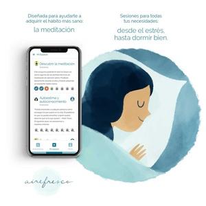 3 o 12 meses de acceso a aplicación de meditación con Aire Fresco Meditación Guiada App (hasta 60% de descuento)