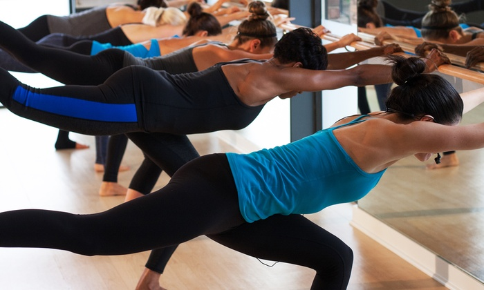 PureRyde + Pilates - Pure Ryde + Pilates: 5 or 10 Barre and Mat Fitness Classes at PureRyde + Pilates (Up to 57% Off)