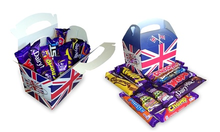 One or Two Cadbury Selection Boxes of 10 FullSize British Chocolate Bars