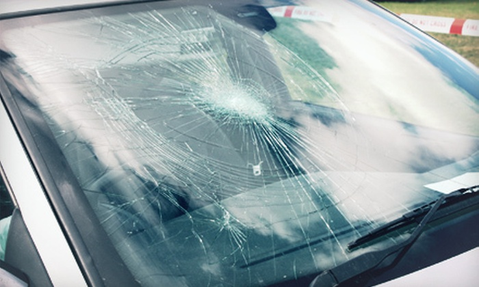 CalAlta Auto Glass - Multiple Locations: Windshield-Chip Repair or $29 for $130 Toward Windshield Replacement at CalAlta Auto Glass