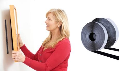 1 o 2 rollos de cintas adhesivas para colgar de 5 metros