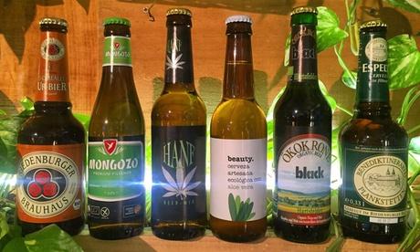 Degustación de cervezas para 2 o 4 personas con entrante gourmet desde 16,95 € en Abonavida