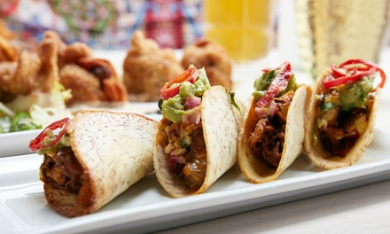 Contemporary Mexican Cuisine at Tinga Taqueria - Millburn (Up to 50% Off). Three Options Available.