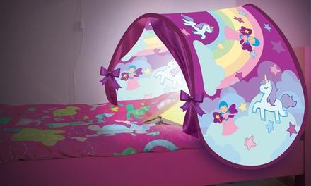 Tienda de campaña con diseño infantil LED para cama de niños