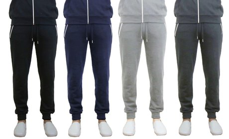 Men's Slim Fit French Terry Jogger Pants
