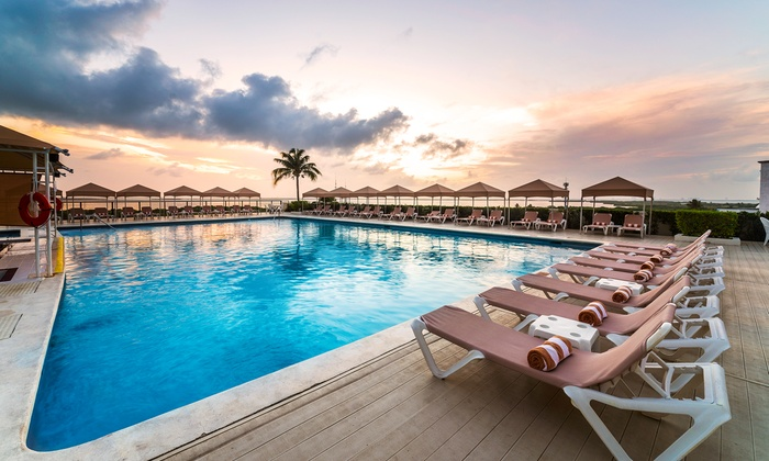 All-Inclusive Crown Paradise Club Stay w/Air from Vacation Expr