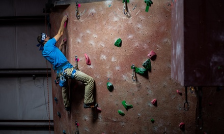 $24 for Day Pass for Two with Full Equipment Rental at On the Edge Rock Climbing Gym ($45 Value)