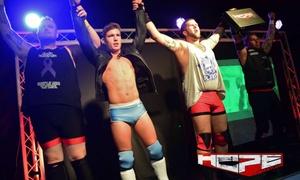 HOPE Wrestling: HOPE Wrestling on 2 October - 26 November, Multiple Locations (Up to 40% Off)