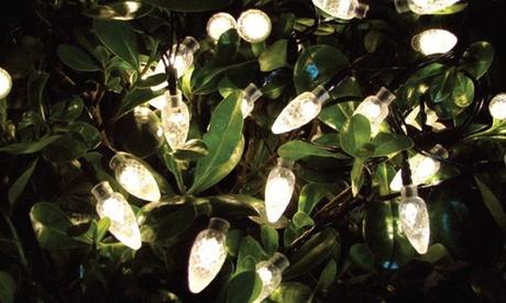 1 o 2 cadenas de bombillas solares LED