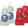 NHL Foldable Water Bottles (2-Pack)
