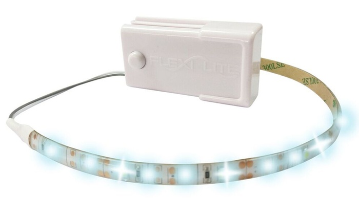 Flexible 12 LED Strips with On/Off Switch (2-Piece)