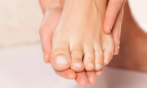 The Laser Clinic: Laser Nail Fungus Treatment - One Foot or Hand ($75) or Both Feet or Hands ($99) at The Laser Clinic (Up to $200 Value)