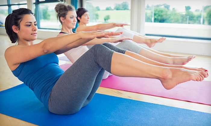 Pilates 4 Poise - Wake Forest: Five Classes or One Month of Unlimited Sessions at Pilates 4 Poise (Up to 52% Off)