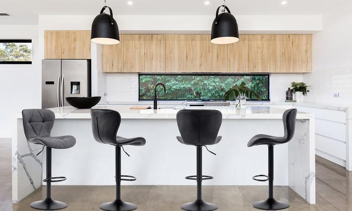 lots de tabourets de bar avik groupon. Black Bedroom Furniture Sets. Home Design Ideas