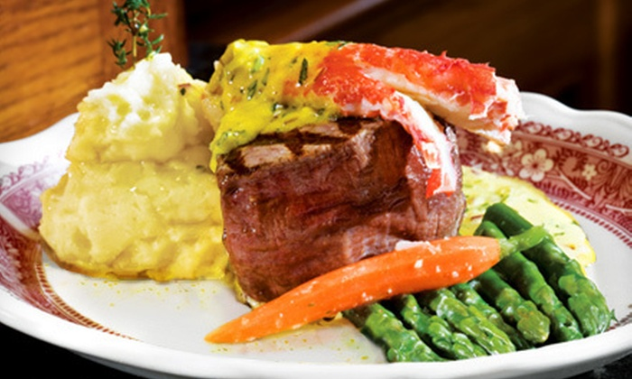 Kelly's of Naples - Long Beach: Three-Course Dinner for Two or Four or Steaks and Seafood for Brunch or Lunch at Kelly's of Naples (Up to 51% Off)