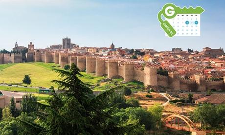 Ávila: estancia para dos en habitación doble con desayuno y opción a media pensión en Hotel Sercotel Cuatro Postes 4*