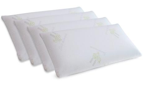 4 cuscini in viscoelastica fiori di lavanda Newconfort