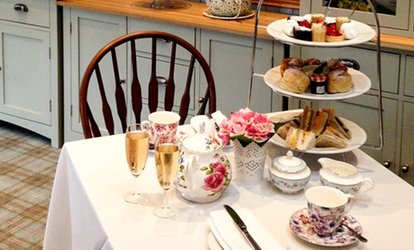 image for Traditional Afternoon Tea for Two or Four at The Grange Manor (50% Off)
