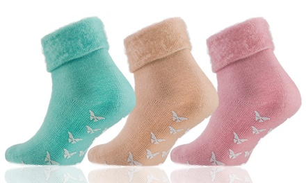 Three £6 or Six £11 Pairs of Women's Thermal Bed Socks