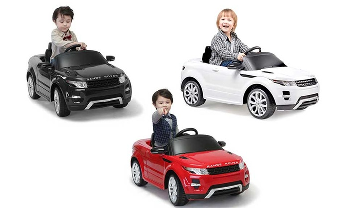 Ride On Range Rover Evoque Toy Car Groupon Goods