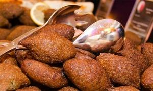 Jerusalem Restaurant: Dine-In or Carryout Mediterranean and Middle-Eastern Cuisine at Jerusalem Restaurant (35% Off)