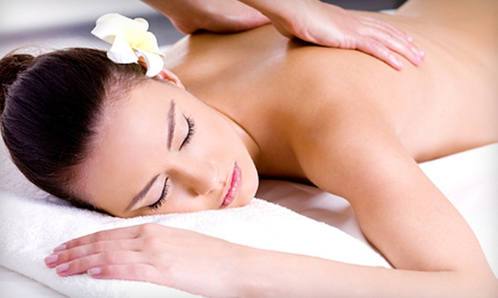 A Royal Touch - Lewisville,: $59 for The Royal Back Treatment with Eucalyptus-Infused Scrub and Deep-Tissue Massage at A Royal Touch ($135 Value)