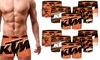 Set di 5 o 10 boxer stampati in vari colori KTM