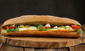 SWEET HOME SANDWICHERIE: Repas comprenant plat, dessert et boisson au choix pour 1, 2 ou 4 personnes dès 5,90 € à la Sandwicherie Sweet Home