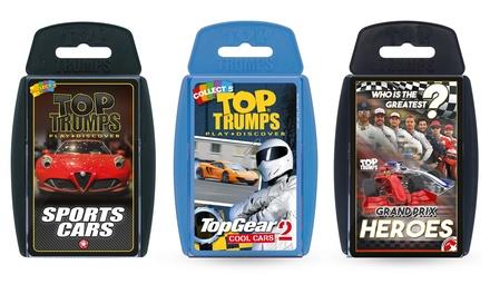 Top Trumps Cars Triple Pack Bundle