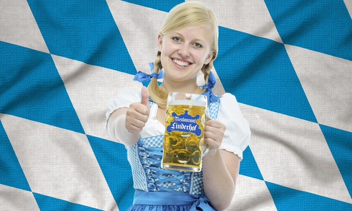 Restaurant Linderhof - Knoxville: Bavarian Cuisine and Drinks for Lunch at Restaurant Linderhof (40% Off)