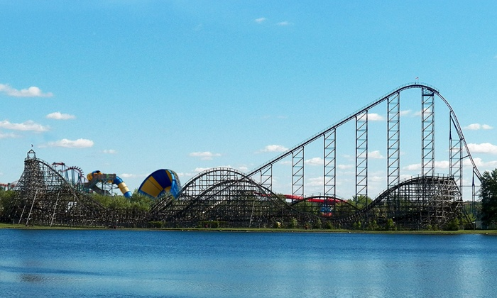 Darien Lake Theme Park Resort - Darien Lake Amusement Park:  $59 for Two Daily Admission Tickets and One Parking Pass at Darien Lake Theme Park Resort ($100 Value)