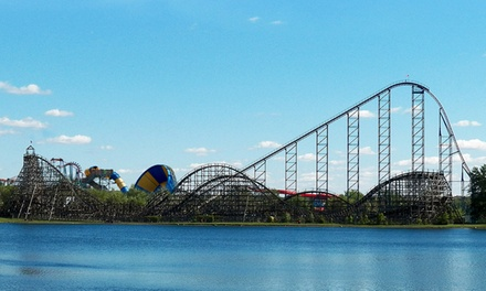 $59 for Two Daily Admission Tickets and One Parking Pass at Darien Lake Theme Park Resort ($100 Value)