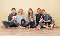 4x 60 Min. Familien-Fotoshooting inkl. Digitalbild bei berlinerkinder photographie (84% sparen*)